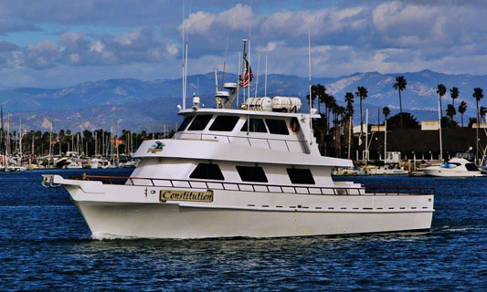 Constitution sport fishing h m landing san diego for H m landing fish count