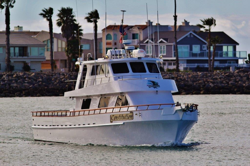 Constitution sport fishing h m landing san diego for One day fishing license ca