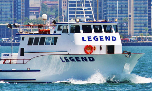 Legend Fishing Tour Sport Fishing
