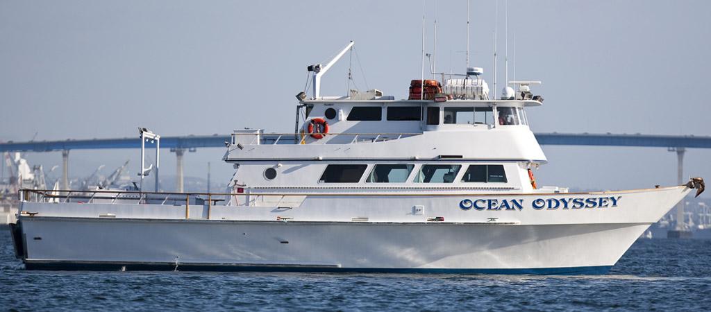 Ocean odyssey sport fishing h m landing san diego for California 1 day fishing license