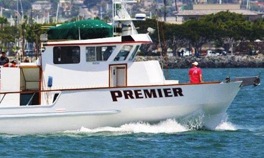 Premier sport fishing h m landing san diego california for H m landing fishing report