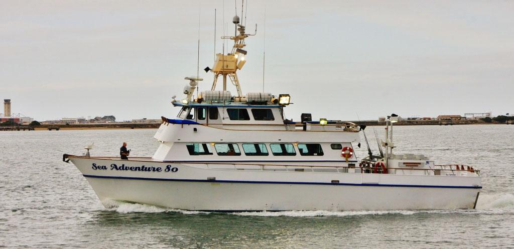 Sea Adventure 80 - Sport Fishing - H&M Landing San Diego