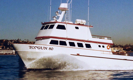 Top Gun 80 Fishing Tours