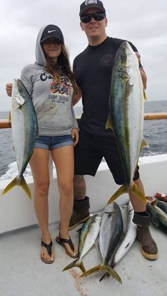 Malihini sport fishing h m landing san diego california for San diego private fishing charters