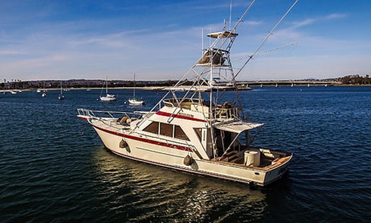 Yacht charter san diego h m landing private charters for San diego private fishing charters