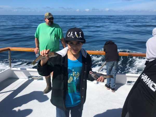 kids fishing trips with Chris Stanley