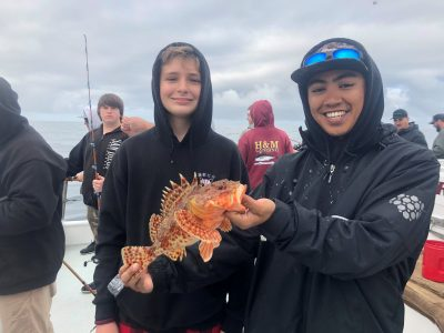 Kids fishing trips March 3, 2019 with Mr. Stanley